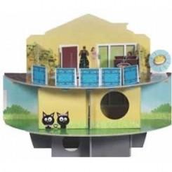 اسباب بازی بسیار جذاب برای همستر به صورت پیچ راهه مدل خانه