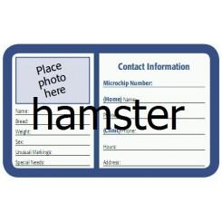 درخواست کارت هویت همستر